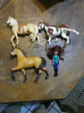 Spirit Horse and Lucky doll set lot of 4