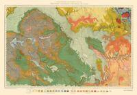 Topo Map - Colorado Western Utah Economic - USGS 1881 - 23.00 x 32.84
