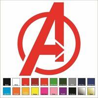 Avengers Vinyl Decal / Sticker - Choose Color & Size - Marvel, Iron Man, Stark *