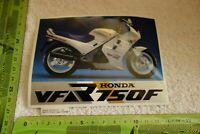 Alter Aufkleber Motorrad HONDA VFR 750F