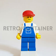 LEGO Minifigures - 1x ovr003 - Construction Worker - Omino Minifig 1525 6377