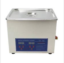10L Ultrasonic Cleaner Heater Digital Display 500W 40khz 110V or 220V O