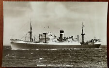 Ellerman Lines S. S. 'City of Madras' Post Card