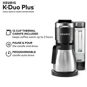 New Keurig K-Duo Plus Single Serve Compatible Coffee Maker with K-Cup Pods