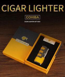 Feuerzeug mit Jetflamme Sturmfeuerzeug Gasfeuerzeug Cohiba for Cigar
