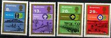 Guernsey 1982 SG#259-262 Boy Scout Movement MNH Set #D67740