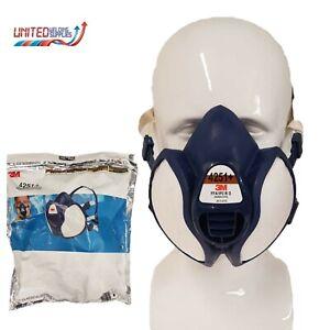 3M 4251+ Reusable Maintenance Free Half Face Respirator, FFA1P2 R D Filters
