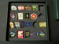 2007 World Jamboree Pin Collection Lot  1920-2007 18 different    eb08