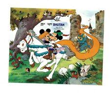 Bhutan 1985 527 - Disney Mickey - Rapunzel Souvenir Sheet - IMPERF