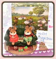 ❤️Wee Forest Folk M-134 First Date Christmas Couch Sofa Limited Special WFF❤️