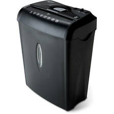 Cross Cut Document Shredder 6 Sheet Shreds Paper Credit Cards Office Supplies