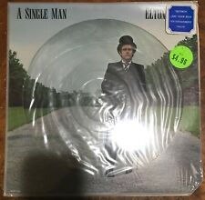 Elton John: A Single Man Picture Disc Vinyl Record Still Sealed! Rock Pop