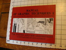 New ListingVintage Book: Manual Of Graphic Techniques 1, Tom Porter & Bob Greenstreet, 1980