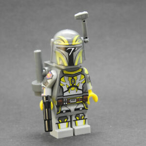 Custom Star Wars minifigures Tristan Wren mandalorian on lego bricks