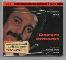 GEORGES BRASSENS CD (NEUF) No 4 JE ME SUIS FAIT TOUT PETIT (UNIVERSAL)