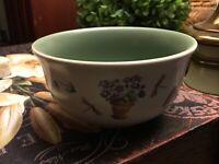 """Pfaltzgraff-Perennials-Garden Flower-Dessert Bowl-4.25"""" Round-NICE!-FREE SHIP!"""
