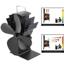 Neu Stromloser Kaminofen Ventilator schwarz von Valiant für Holzofen Schwarz TR
