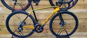 Specialized Tarmac Pro Disc Race UDI2 2016 Road Bike Carbon org/blk Size 52