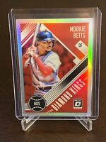 2018 Donruss Optic Mookie Betts Diamond Kings Silver Prizm Holo Red Sox Dodgers