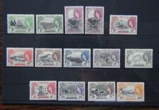 St Helena 1953 - 1959 set to 10s MM SG153 - SG165