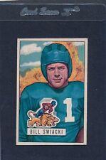 1951 Bowman #132 Bill Swiacki Lions EX 51B132-40615-2