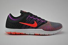 Womens Nike Flex Adapt TR Running Shoes Size 7.5 Black Grey Purple 831579 004