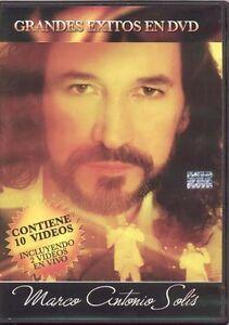 Grandes Exitos En DVD - Marco Antonio Solis DVD Sealed New Greatest Hits !