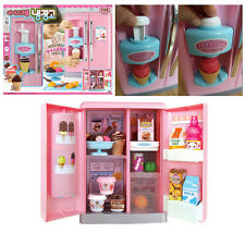 Ice Cream Refrigerator Kids Child Food Toy Color Clay Educational Role Play Toys