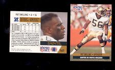 1991 Pro Set Spanish PAT SWILLING New Orleans Saints Card