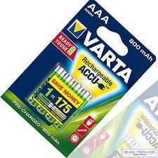 4x VARTA batteria 800mah NiMH LONGLIFE Accu Micro AAA Ready 2use 800 mAh Blister