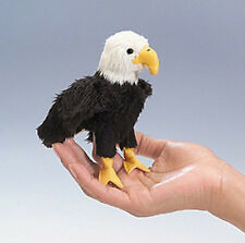 EAGLE FINGER PUPPET # 2642 ~ FREE SHIPPING in USA! Folkmanis Puppets