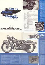 Puch, 350 GS, GeländeSport, Prospekt, Faksimile 1996