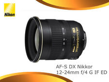 Nikon Af-s 12-24mm F4 G DX If-ed Lens
