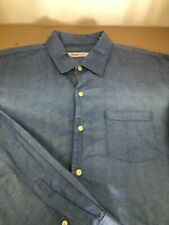 TOMMY BAHAMA - MEN'S LONG SLEEVE BUTTON FRONT SHIRT - XL
