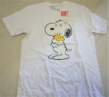 Uniqlo Kaws Peanuts Snoopy Woodstock White Shirt Mens M out