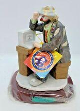 Emmett Kelly Jr Flambro Computer Whiz Professional Series Clown Figurine 9602