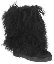 "Women's Bearpaw Boetis 10"" Boot Black Size 6 #NU060-894"