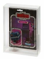 2 x GW Acrylic Display Cases - Vintage/VC Carded (Deep) Star Wars MOC (ADC-002)
