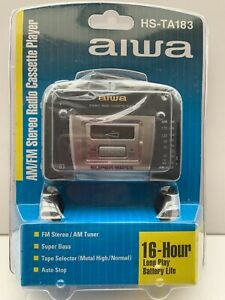 AIWA HS -TA183 AM- FM STERIO RADIO CASSETTE PLAYER WYUB