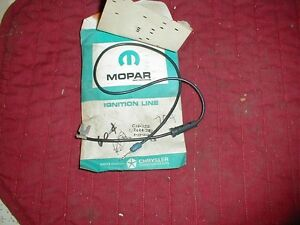 NOS MOPAR 1959-69 DISTRIBUTOR LEAD PLYMOUTH DODGE CHRYSLER 8 CYLINDER