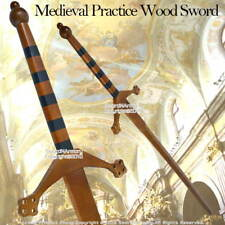 Medieval Practice Wood Waster Scottish Claymore Sword