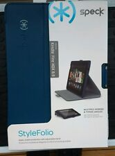 "NEW Speck STYLEFOLIO KINDLE FIRE HDX 8.9"" CASE BLUE"