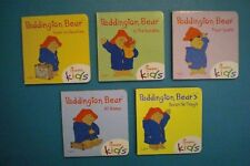 Chick-Fil-A 2013 Board Books - Paddington Bear -  Complete Set of 5
