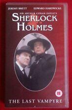 SHERLOCK HOLMES - THE LAST VAMPYRE VHS PAL RARE