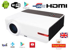 3D WIFI 5000 Lumen HDMI 1080P FULL HD Home Cinema Movie Video TV LED Projector