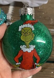 "Handmade ""The Grinch"" Christmas Ornament!"