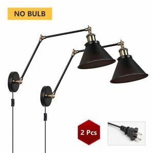 Vintage Wall Lamp Industrial Lights Adjustable Led Wall Light Sconces Wall
