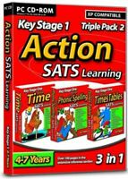 Action Sats (Ages 4-7) Stage 1: 3 pack 2, , Very Good, CD-ROM