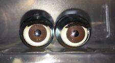 American Girl 1 pair Julie brown eyes - Parts, Repair, custom, tlc