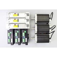 3 Axis CNC Kit 1841oz.in Nema 34 Stepper Motor & MA860H Driver CNC Plasma Mill